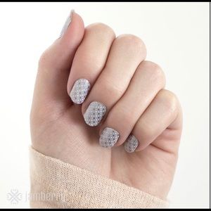 Jamberry First Frost Full Sheet Discontined